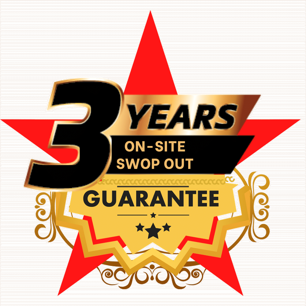 3 year on site swop out guarantee in cape town