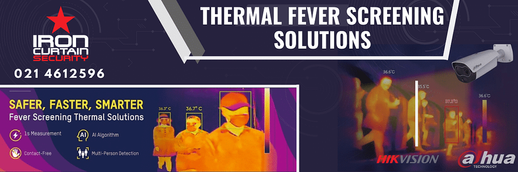 Thermographic CCTV Cameras for body Temperature scanning