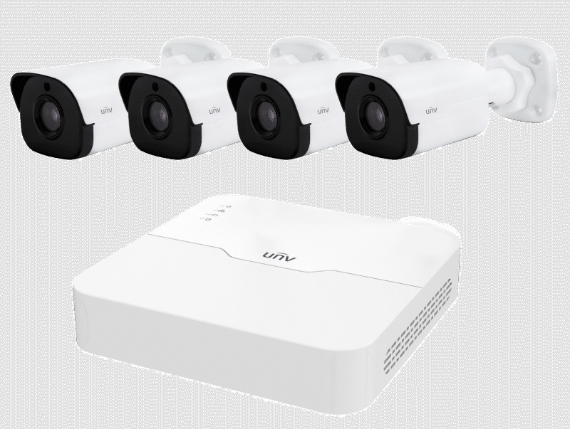 Uniview 4 Channel Package