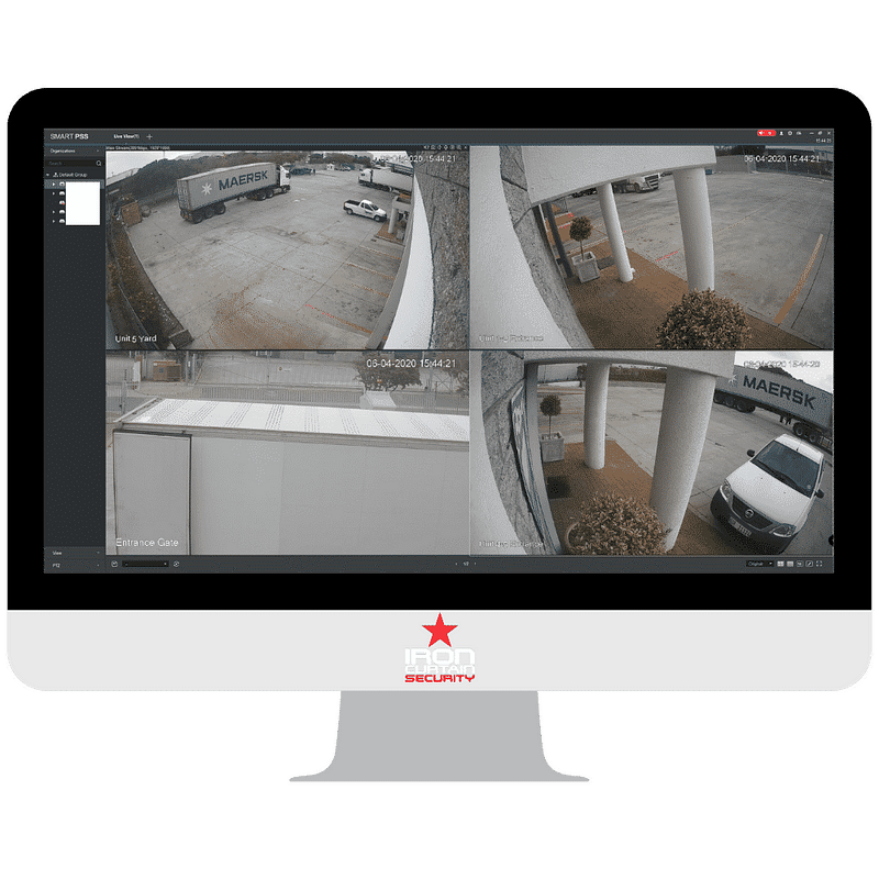 cctv cameras, CCTV for Homes – 4 Camera IP System