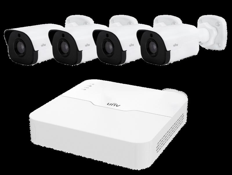 cctv cameras, 4 Camera IP CCTV System – Special Offer